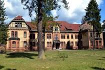Alte Kurgebäude in Beelitz Heilstätten
