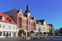 Stadtzentrum von Finsterwalde