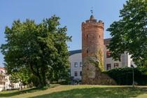 Fürstenwalde: Stadtmauer mit Bullenturm
