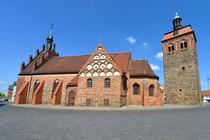 Marktturm und St. Johanniskirche in Luckenwalde