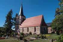 Mittelalterliche Dorfkirche in Siethen bei Ludwigsfelde