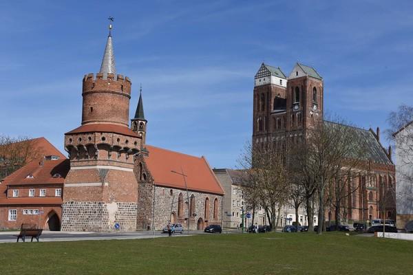 Mitteltorturm und Heiliggeistkapelle Prenzlau