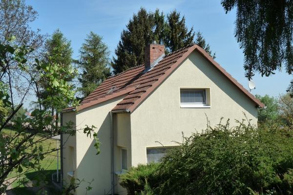 Ferienhaus Gramzow Uckermark Hausansicht