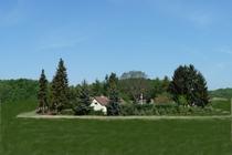 Ferienhaus Gramzow Uckermark Grundstück