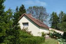 Ferienhaus Gramzow Uckermark Garten