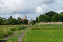 Ferienhaus Elbe Lenzen Stadtblick