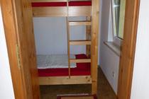 Ferienhaus Uckermark direkt am Lübbesee Schlafzimmer