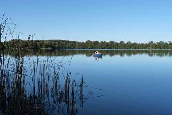Ferienhaus Boitzenburger Land Boot fahren Rathenow See