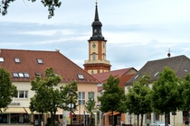 Templin Marktplatz Kirche
