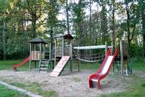 Boitzenburger Land Badestrand Großer Warthesee Spielplatz