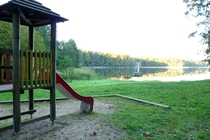 Boitzenburger Land Badestrand Großer Warthesee Seeblick