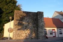 Lychen Stadtmauer am Museum