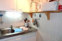 Spreewald Ferienhaus Alt Zauche Küche