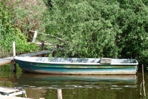 Schwielowsee Boot am Ufer