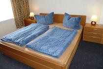 Ferienwohnung Caputh Schlafzimmer