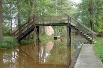 Spreewald Brücke bei Leipe