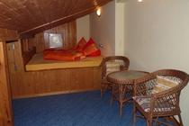 Ferienhaus Spreewald Straupitz Schlafzimmer im Dachgeschoss