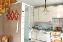 Ferienwohnung Spreewald Straupitz Küche Dusche