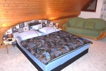 Ferienwohnung Spreewald Straupitz Schlafzimmer Doppelbett