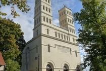 Spreewald Straupitz Schinkelkirche Seitenansicht