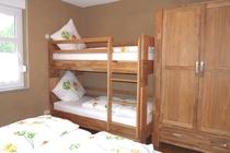 Ferienwohnung Spreewald Burg Schlafzimmer mit Etagenbett