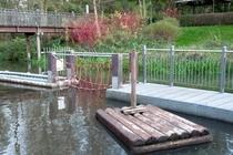 Spreewald Lübben Wasserspielplatz
