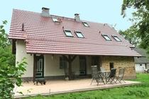 Ferienwohnung Spreewald Burg Hausansicht