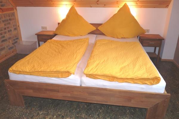 Ferienwohnung Spreewald Burg Doppelbett