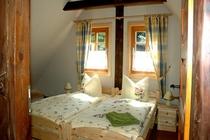 Spreewald Ferienwohnung Burg SChlafzimmer
