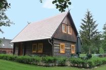 Ferienhaus Spreewald Burg Hausansicht