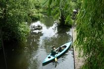 Spreewald Lübben Kanu fahren