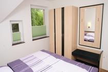 Ferienwohnung Spreewald Schlepzig Schlafzimmer unten