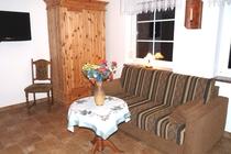 Apartment Spreewald Schlepzig Wohnbereich
