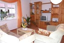 Ferienwohnung Spreewald Wohnzimmer