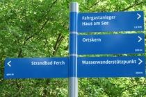 Schwielowsee Ferch Wegweiser