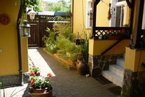Ferienwohnung Spreewald Straupitz Eingang Haus