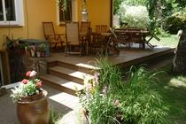 Ferienwohnung Spreewald Straupitz Grillterrasse