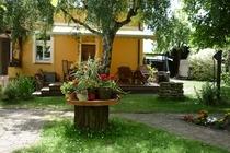 Ferienwohnung Spreewald Straupitz Terrasse Garten
