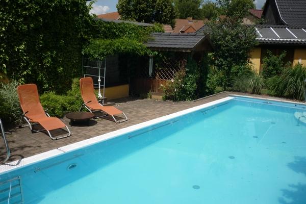 Ferienwohnung Spreewald Straupitz Pool