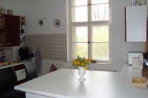 Ferienhaus Spreewald Golßen Gersdorf Fenster in der Küche
