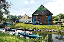 Ferienwohnung Spreewald Schlepzig Paddelboottour