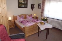 Ferienwohnung Spreewald Schlepzig SChlafzimmer Doppelbett