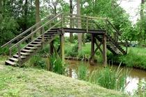 Spreewald Raddusch Brücke Fließ