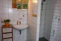Ferienhaus Lychen Dusche