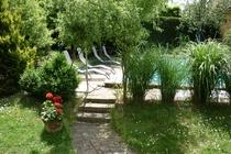Ferienwohnung Spreewald Straupitz Pool Garten