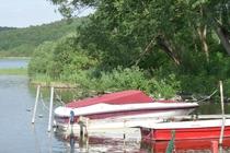 Schwielowsee Ferch Boote am Ufer