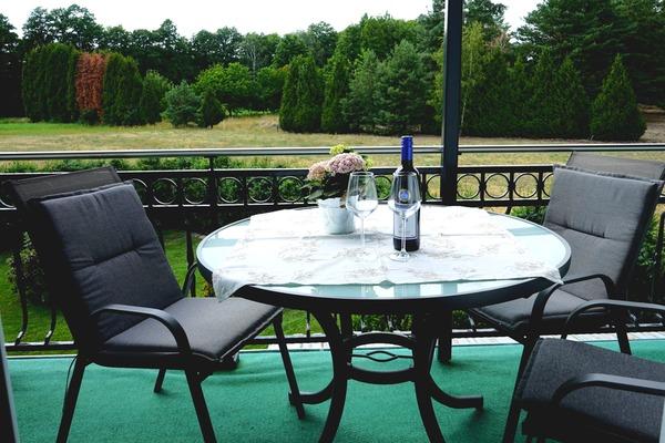 Ferienwohnung Spreewald Alt Zauche Balkon