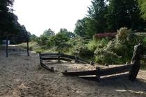 Lychen Wurlsee Badestrand Spielplatz