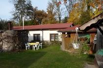 Ferienhaus Uckermark Milmersdorf Garten