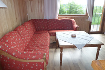 Ferienhaus Templin am See Wohnzimmer